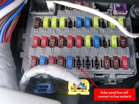 toyota camry hybrid 2007 fuse box get free image about