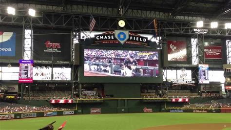 arizona diamondbacks  los angeles dodgers jumbotron intro video lineup introduction