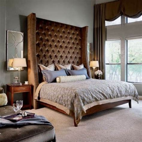 11 Best Images About Big Headboard Beds On Pinterest