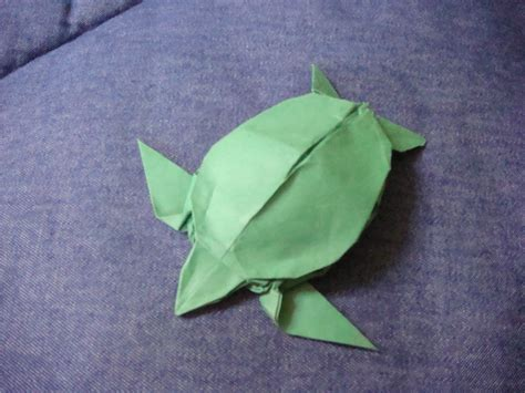 Sea Turtle Origami - origami sea turtle by silent anton123 on deviantart
