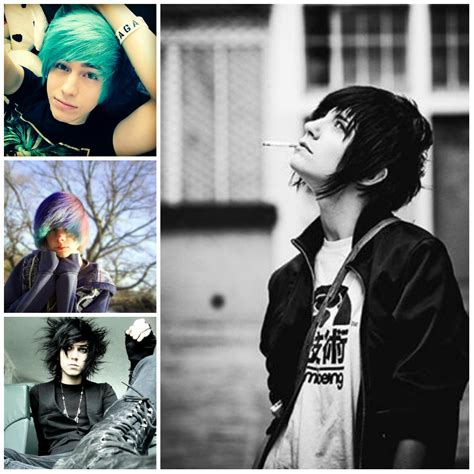 emo haircuts for boys hair pinterest emo haircuts emo and