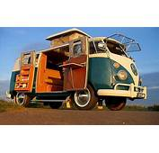 Volkswagen Re Releasing Classic Hippy Van As New Electric