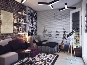 Nice Bedroom Ideas Teenagers #4: Beatles-Theme-Teenage-Bedroom-Ideas-for-Boys.jpg