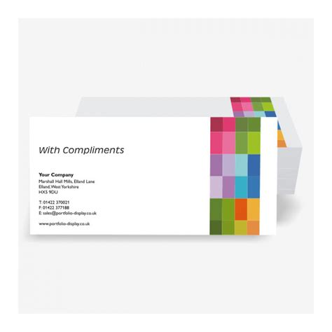 compliment slip template printed compliment slips for companies stationery
