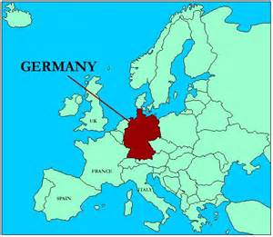 Germany On The Map by Maps Of Germany