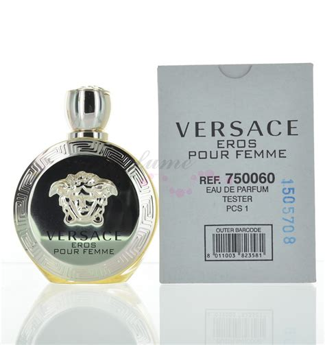 Parfum Ori 100 Versace Eros Edt 100 Ml No Box versace eros pour femme for eau de parfum 3 4oz 100ml tester with cap ebay