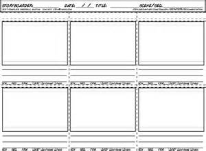 Storyboard Outline Template by New Storyboard Template For 2017 By Jeburton On Deviantart