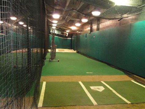 batting cage next to visitors clubhouse picture of at t