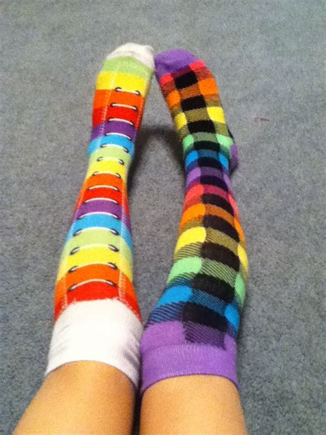 mismatched socks 17 best images about mismatched socks and ripped on beautiful tattoos knee