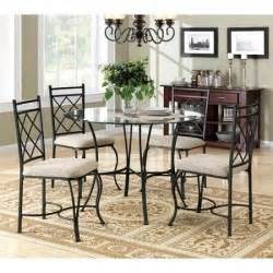 glass and metal dining room sets metal dining set glass top table and chairs 5
