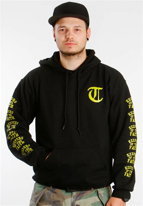 Best Item Hodie Teror Keeper Of The Faith Zero X Store terror yellow keepers of the faith hoodie impericon worldwide