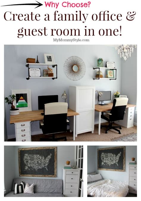 Guest Bedroom Office Ideas A Family Office And Guest Room In One Home Office That Functions As A Guest Bedroom As Well