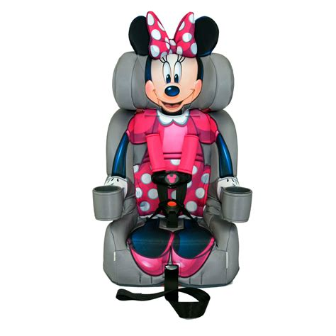 minnie mouse friendship combination booster car seat from
