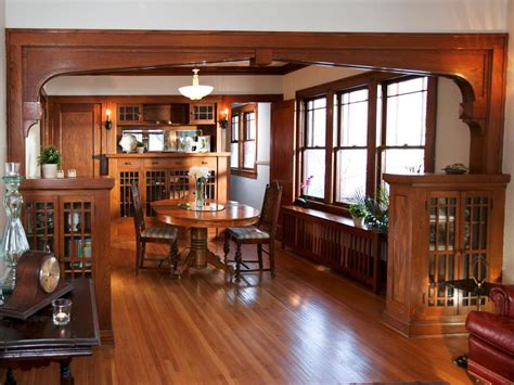 craftsman dining room design ideas remodels photos with 1920s bungalow restoration on rehab addict rehab addict