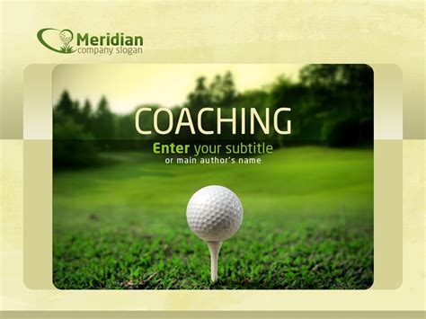Golf Powerpoint Template 35578 Golf Powerpoint Template