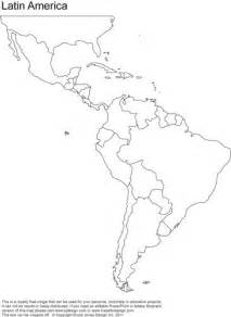 america map blackline master blank map of central and south america printable teaching ideas south america