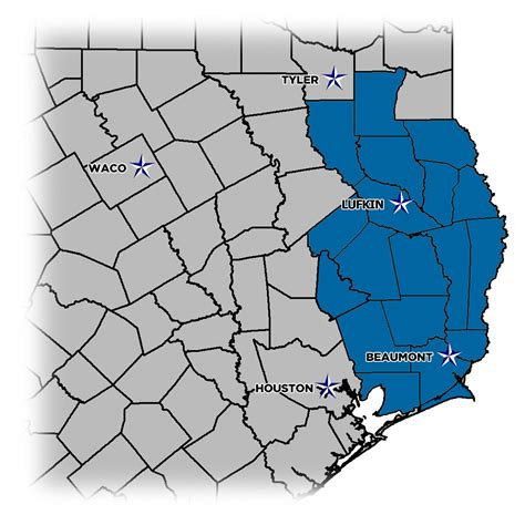 piney woods texas map piney woods service area piney woods sanitation