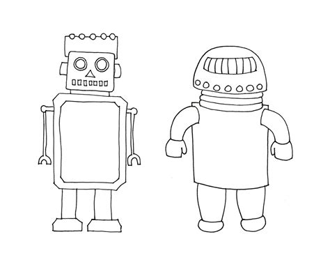 printable coloring pages robots free printable robot coloring pages for
