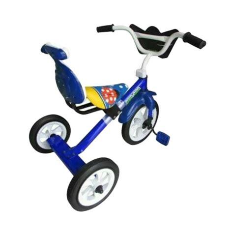 Sepeda Bmx Roda Tiga Anak Biru Tricycle Sandaran Yoe Yoe Khusus Gojek jual yoeyoe cgc tricycle sepeda anak biru roda tiga harga kualitas terjamin