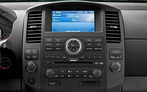 nissan pathfinder radio 2012 nissan pathfinder le 4x4 test truck trend