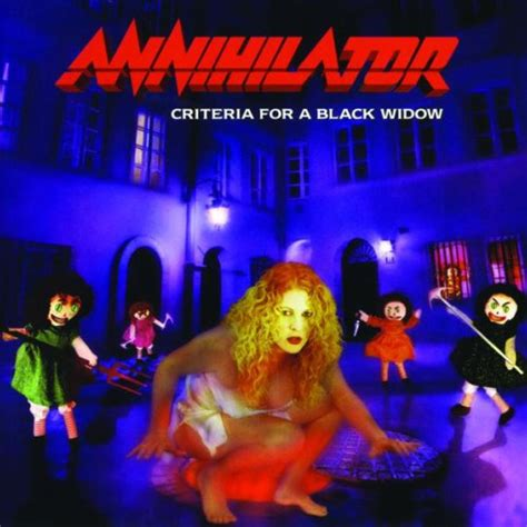 Cd Annihilator albums similar to criteria for a black widow by annihilator