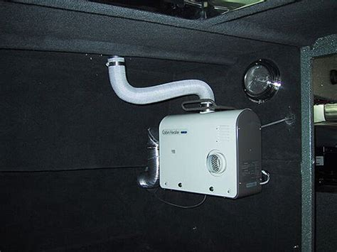 Boat Cabin Heater by Koffler Boats Offshore Heating Options Koffler Boats