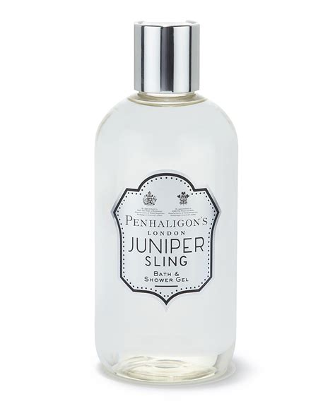 bath and shower gels juniper sling bath shower gel 300ml penhaligon s