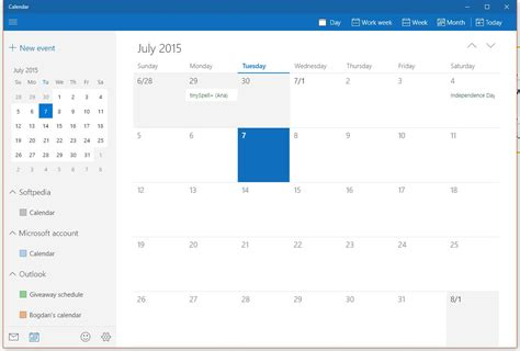Calendar App For Windows 10 Microsoft Updates Mail And Calendar Apps For Windows 10