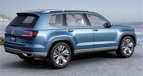 2015 Volkswagen Suv by 2015 Vw Suv Cross Blue Autos Post