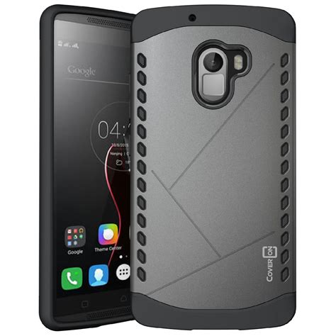 Casing New Lenovo K4 Note Slipknot by For Lenovo Vibe K4 Note Slim Grip Armor Hybrid