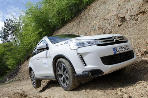 Leichtes Cross Motorrad by Test Citroen C4 Aircross Komfortables Ambiente F 252 R