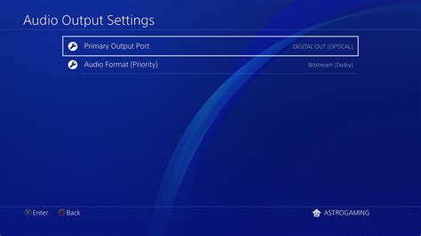 audio format on ps4 a50 wireless base station playstation 4 setup guide
