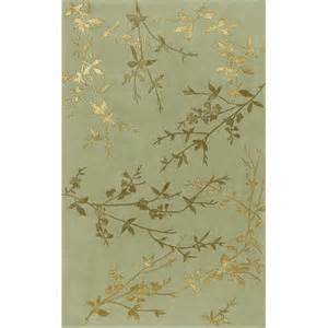 Surya Rugs On Sale Tamira Collection Wool Area Rug In Turtle Green And Gold