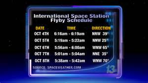 international space station viewing 2011