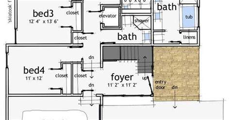House Plans Modern floor plan first story floor plans pinterest modern