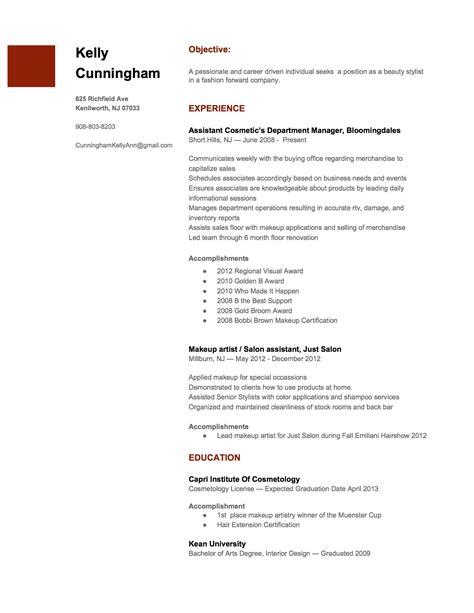 Resume Xml Standard by Standard Resumes Sanitizeuv Sle Resume And
