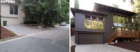 mid century modern house  los