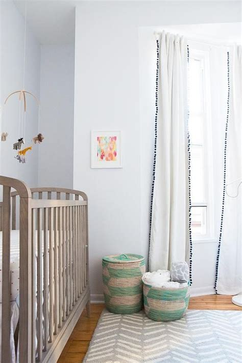 neutral baby curtains 1000 ideas about pom pom curtains on pinterest curtains