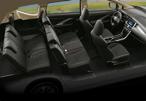 interior mitsubishi xpander mitsubishi xpander exports commence launched in the