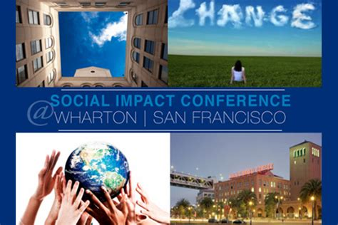 Mba Conference San Diego 2014 by Wharton San Francisco Student To Run Social Impact