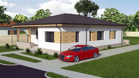 modern bungalow house design  bedroom house model