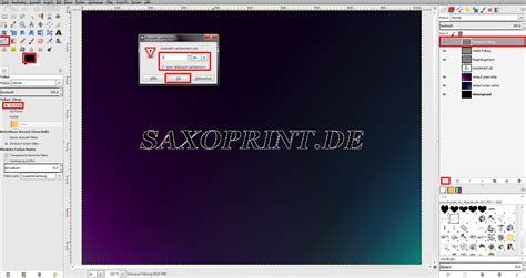 gimp tutorial wallpaper tutorial schickes wallpaper in gimp erstellen 187 saxoprint