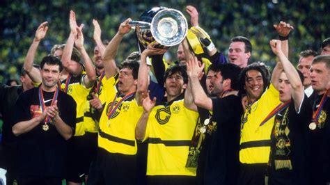 wann spielt dortmund in der chions league schalke 04 und borussia dortmund 1997 triumph in