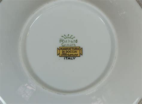 manifattura di doccia richard ginori 1 tazza di moka tazza espresso manifattura
