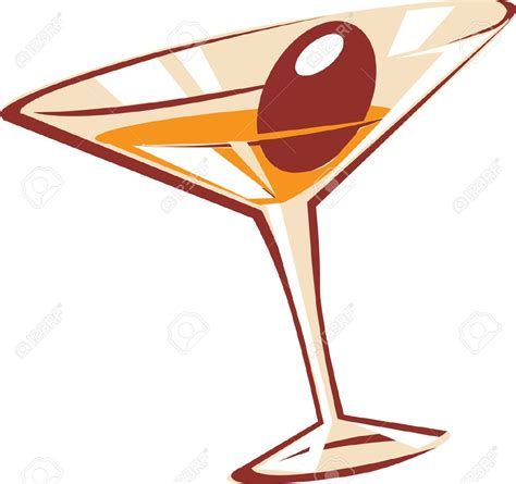 martinis clipart martini glass stock vector illustration and royalty free
