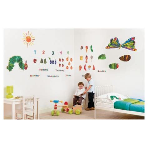 the hungry caterpillar wall stickers buy funtosee the hungry caterpillar wall stickers