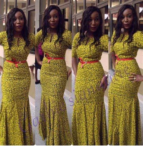 latest nigeria gown style classy long ankara style gown for ladies debonke house