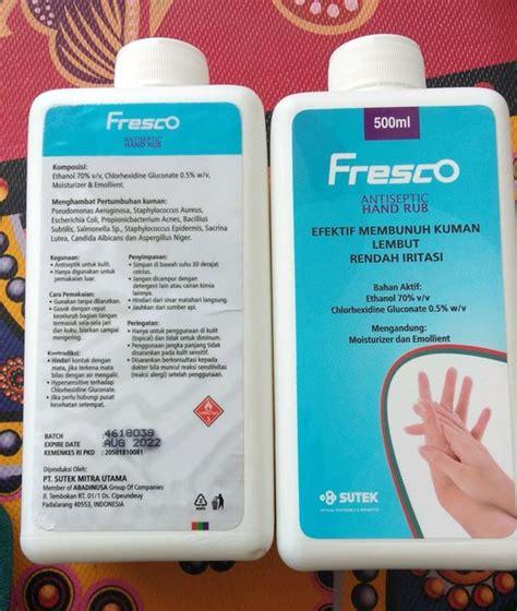 promo paket  botol fresco ml hand rub hand sanitizer  lapak marokta medistra