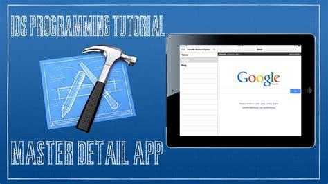 xcode tutorial master detail application ios 7 tutorial 13 master detail application ipad youtube
