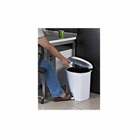 White Plastic Bathroom Bin by Buy Large White Plastic Pedal Bin White Plastic Bathroom Bin